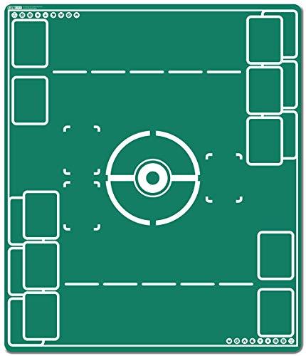 Inked Playmats バトルフィールド 2プレーヤーマット インク入り ゲーム MTG ポケモン 遊戯王 マジック ザ・ギャザリング TCG ゲームマット