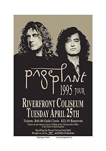 Raw Sugar Art Studio Jimmy Page/Robert Plant/Led Zeppelin 1995 Cincinnati Concert ()