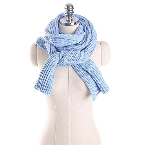 Winter Knit Hooded Scarf...