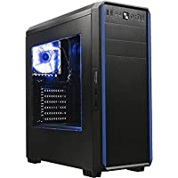 Centaurus Pollux Custom Gaming Computer - AMD Ryzen 5 1600 Six-Core 3.2/3.6GHz TB + Wraith Spire Cooler, 16GB 2400MHz DDR4 RAM, Radeon RX 580 4GB, 1TB SSHD, Windows 10 64bit, WiFi. Ryzen Gaming PC!