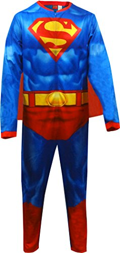 DC Comics Superman Graphic 1 Piece Union Suit (X-Large) (Superman Adult Onesie)