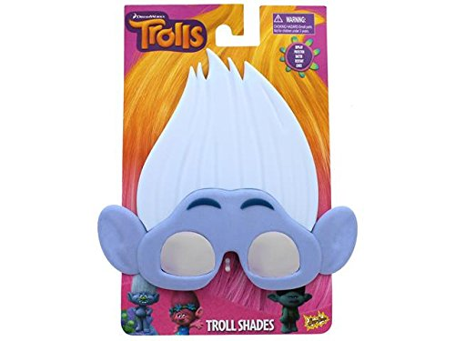 Sun-Staches Sunglasses Trolls Guy -