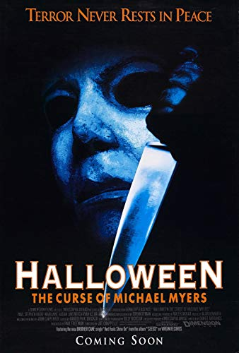 The Gore Store Halloween Curse of Michael Myers Movie Poster 24x36 -