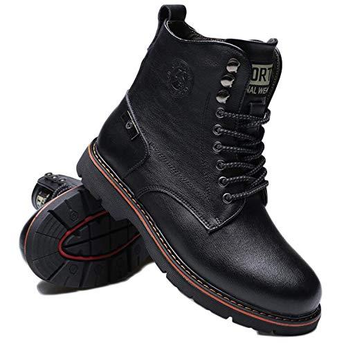 Adulti Tempo Abbigliamento Stivali Il per Militari Stivali Classica di Plus Black Deserto Libero per Pelle per Boots Stivali Stivali Velluto Martens Dr Il fgqEIw6f