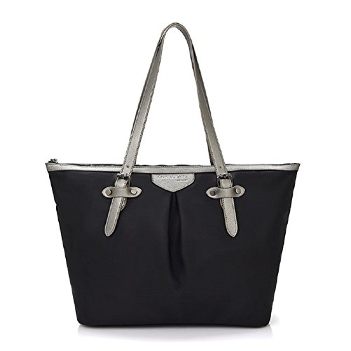 Shoulder Handbags, Womens Girls Casual Fashion tote hobo Bag Crossbody Shopper Bag Bucket Bag, Black