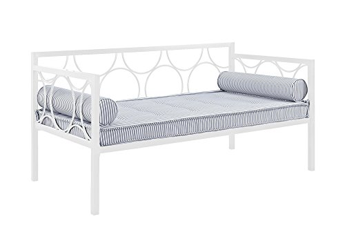 Dorel Home Products Rebecca Metal Daybed, White
