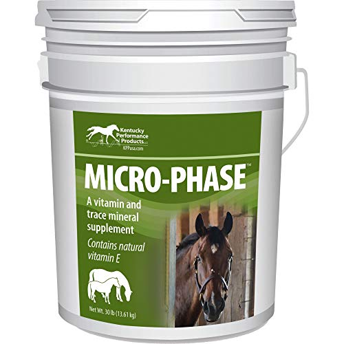 Kentucky Performance Prod 044047 Micro-Phase Vitamin & Mineral Supplement for Horse, 30 lb