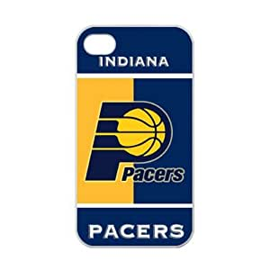 iPhone 4/4s TPU Case with Indiana Pacers Team Logo (Laser Technology)-by Allthingsbasketball