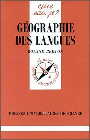 En ligne Géographie des langues pdf epub