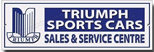 Triunfo deportes coches Metal de calidad signo Vintage Sign Designs