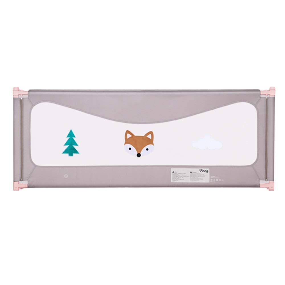 LIQICAI 幼児用ベッドレール 転倒防止 ベッドガードレール ベビーベッドバッフル 垂直リフト チャイルドガードレール、 2色、 3サイズ (Color : B, Size : 2.0M) 2.0M B B07SXR61WM