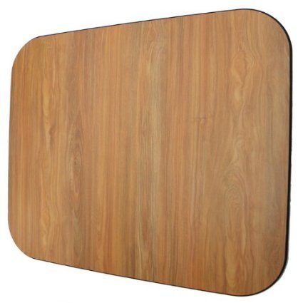 "Premium Wood Oak 42"" x 46"" - no Lip 3/8"" Thick Chair Mats"