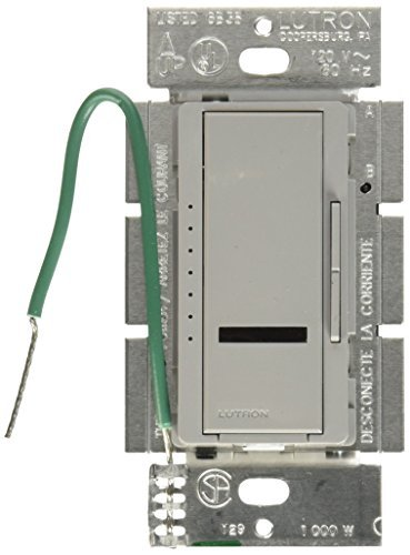 Location 1000 Watt Dimmer (Lutron MIR-1000M-GR Maestro IR 1000-watt Multi Location Dimmer, Gray by Lutron)