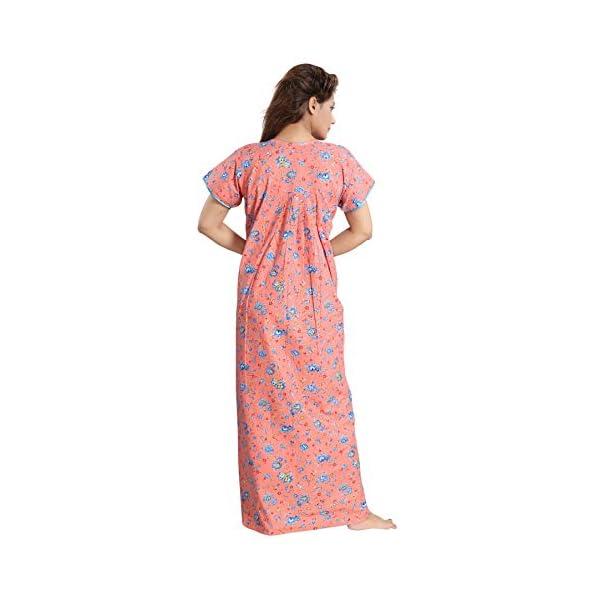 Maternity Nightwear Cotton Feeding Nighty With Zip Online India