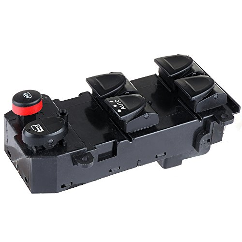 cciyu Master Power Window Switch Front Left Driver Side Replacement fit for 2005-2011 Honda Civic
