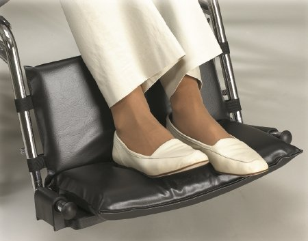 Skil-Care Bariatric Footrest Extender, 1'' High # 703294 - 20''-24'', each