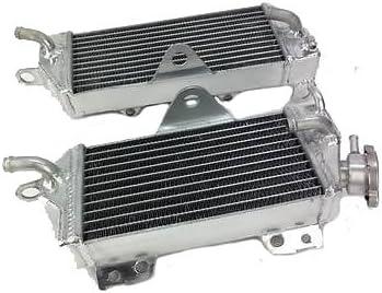Left+Right OPL Aluminum Performance Radiator for 1994-2002 Kawasaki KX125//KX250