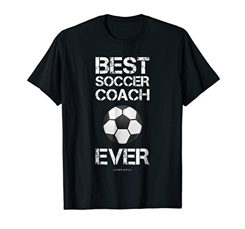 Mens Funny Soccer Coach Gift Shirts: Best Soccer Coach Ever Shirt Small (Best Ever Funny Feet)
