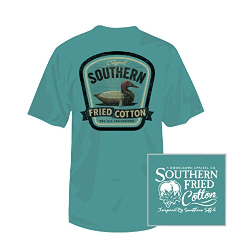 Southern Fried Cotton Boy's Duck On Call Short Sleeve Tee (Medium)