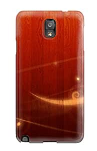 Snap-on Wood With Vector Case Cover Skin Compatible With Galaxy Note 3
