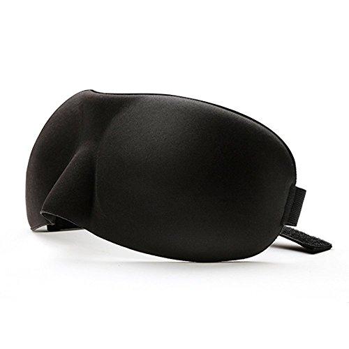 BlueBeach® Paquete de 2 Viajar Antifaces para dormir / 3D Antifaces para los ojos / Perfecto Máscara de noche Diseño contorneado para un sueño extra cómodo ...
