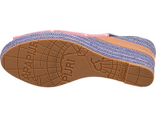 Napapijri768462 - zapatos de tacón Mujer red beige polka dots