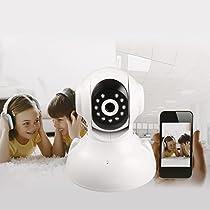Wireless Ip Security Camera, Indoor HD 720P WiFi Clound IP Security Camera with Alarm Night Version