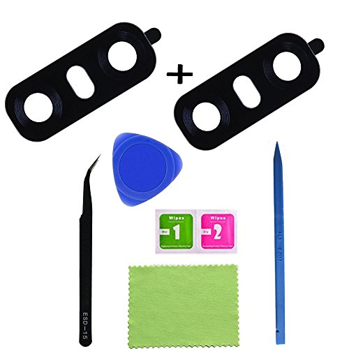 Eaglestar 2pcs True Glass Rear Camera Cover Lens Replacement for LG G6 H870 H871 H872 H873 LS993 VS998 US997 H870DS+1 Set Repair Tool from Eagle