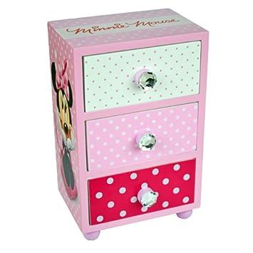 Amazonde Minnie Mouse Kinderzimmer Schrank Kommode 3 Schubladen