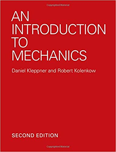 kleppner and kolenkow an introduction to mechanics solutions