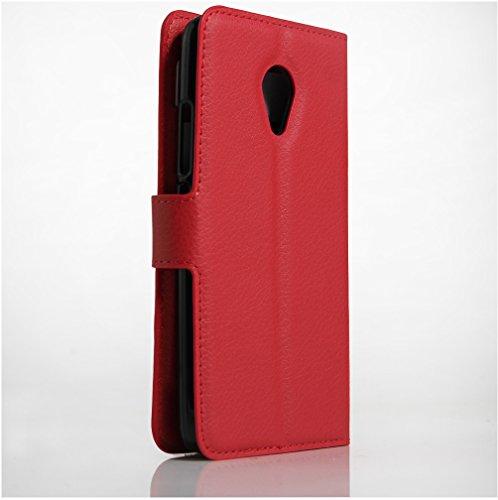 Funda MEIZU M3S,Manyip Caja del teléfono del cuero,Protector de Pantalla de Slim Case Estilo Billetera con Ranuras para Tarjetas, Soporte Plegable, Cierre Magnético C
