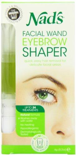 Nad's Natural Hair Removal Gel, Facial Wand, .2-Ounces by (Nads Facial Wand)