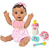 Spin Master LUVABELLA - Brunette Hair - Responsive Baby Doll with Realistic Expressions and Movement