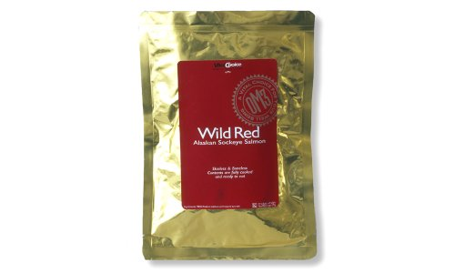 Vital Choice Wild Sockeye Salmon, 6-Ounce Pouches (Pack of 2)