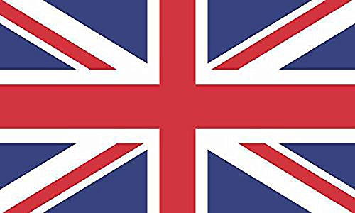 Papapatch British Union Jack United Kingdom UK England Flag