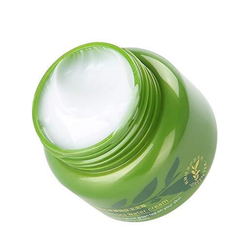 50g Green Tea Facial Cream, Anti Aging Retinol Moisturizer Cream for Face - Natural and Organic Cream, Anti-Wrinkles Repair Firming Skin Cream for All Skin Types