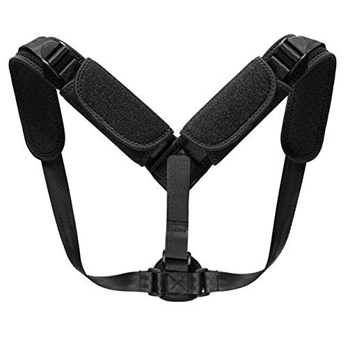 Amyove Shoulder Pad Hunchback Correction Belt Adjustable Vest Posture Correction Buckle Breathable Correction Belt