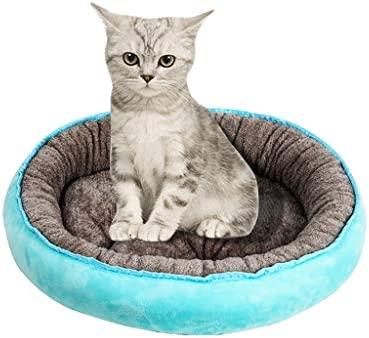 Cdoston Mascota Nido extraíble, Gatos, casa, Suave, Cueva ...