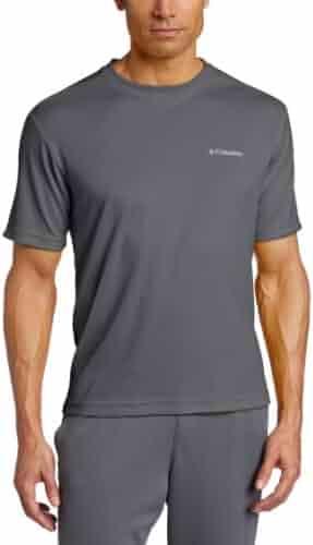 Columbia Men's Meeker Peak Short-Sleeve Crew T-Shirt