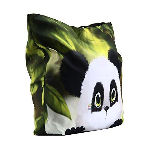 Femme Main Newplenty À Pour Sac Panda TTEwI