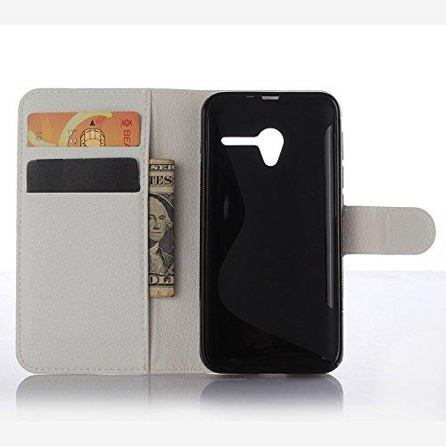 Ycloud Funda Libro para Vodafone Smart Speed 6, Suave PU Leather Cuero con Flip Cover, Cierre Magnético, Función de Soporte,Billetera Case con Tapa para ...