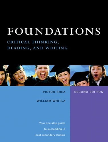 Foundations: Critical Thinking, Reading, and Writing (2nd Edition)
