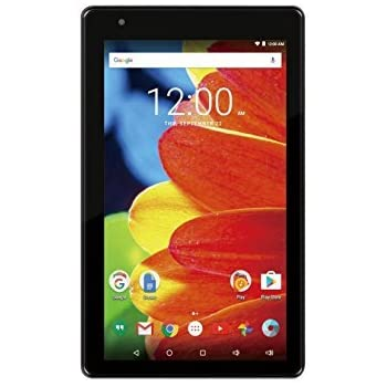 Premium RCA Voyager 7-inch Touchscreen Tablet PC 1.2Ghz Quad-Core Processor 1G Memory 16GB Hard Drive Webcam Wifi Bluetooth Android 6.0 Marshmallow OS Black