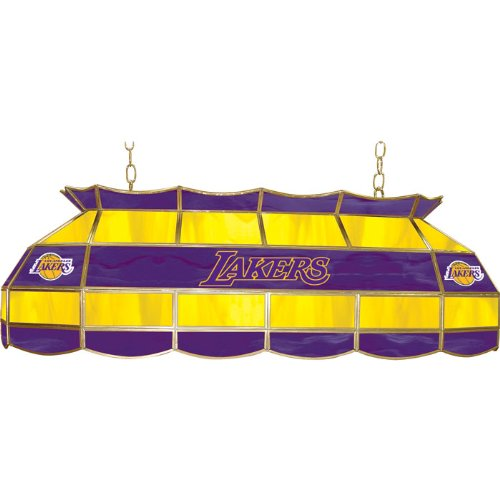 NBA Los Angeles Lakers Tiffany Gameroom Lamp, 40'' by Trademark Gameroom