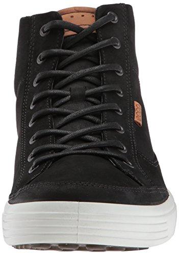 Ecco Heren Zachte Vii High-top Fashion Sneaker Zwart