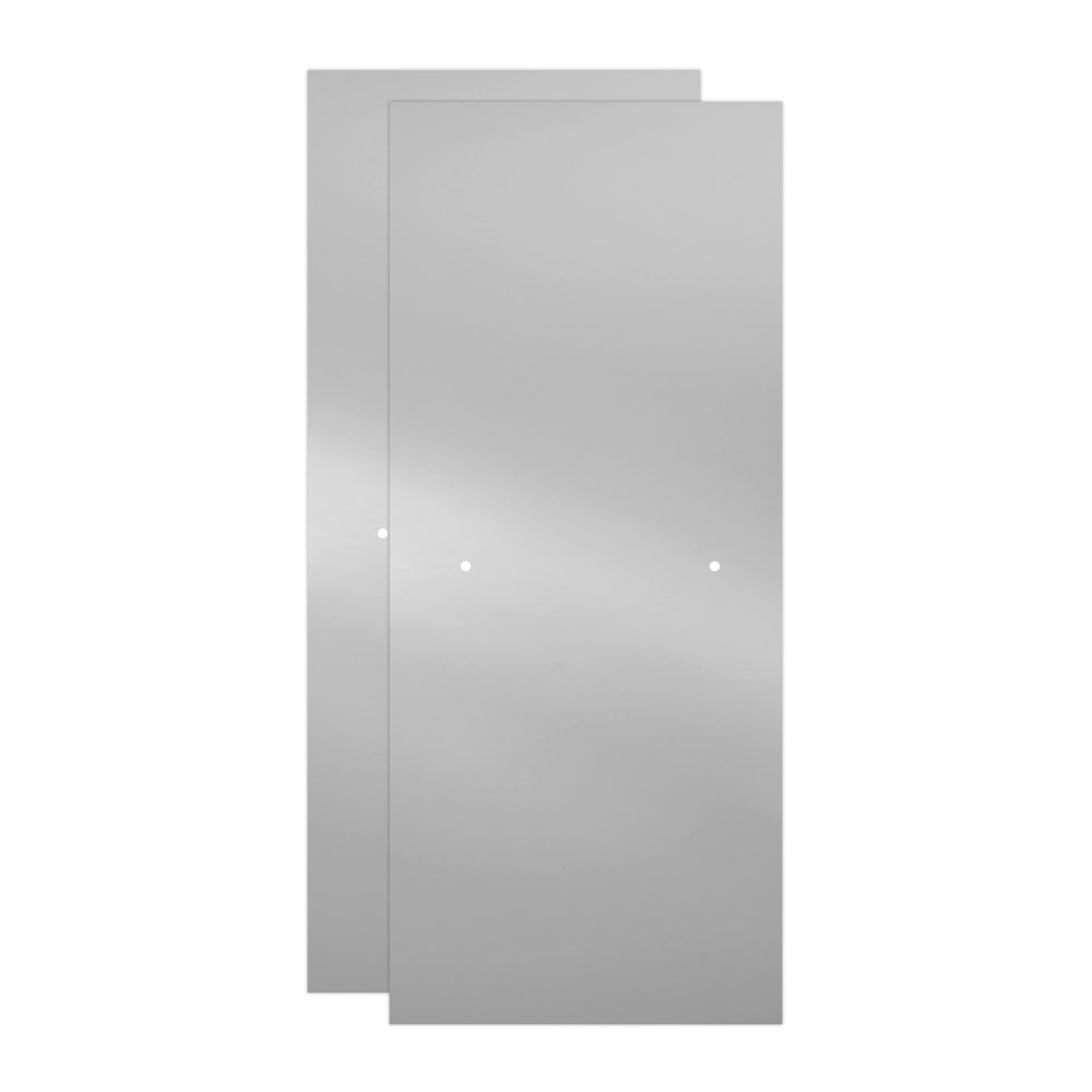 Delta Shower Doors SD3172662 Windemere 60'' x 71'' Semi-Frameless Contemporary Sliding Shower Door in Bronze with Clear Glass by DELTA FAUCET (Image #6)