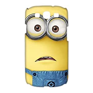 Mystic Zone Despicable Me Samsung Galaxy S3 Case for Samsung Galaxy S3 Hard Cover Funny Cartoon Fits Case HH0651