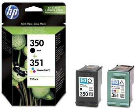 HP 350 + 351 - Cartuchos de tinta para impresora (2 unidades ...