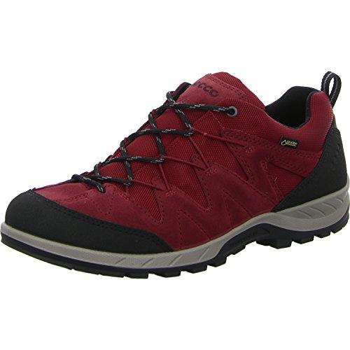 ECCO Yura, Zapatillas de Deporte para Exterior para Hombre Rojo (Black/brick)