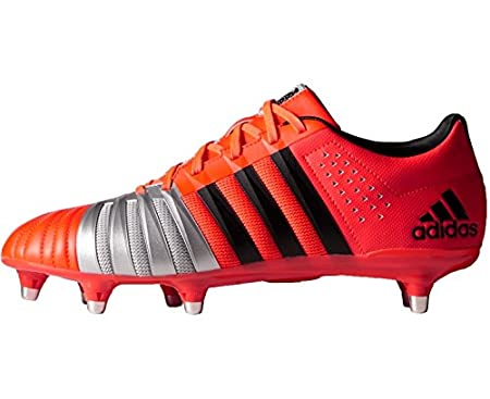 FF80 Pro XTRX SG II Rugby Boots Solar Red/Core Black/Silver Metallic -